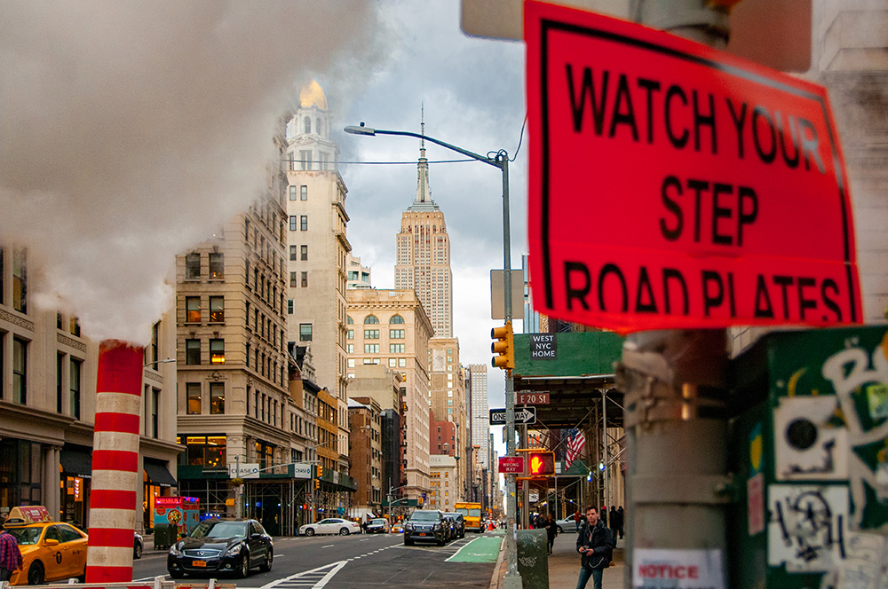 Empire State Building and steam system