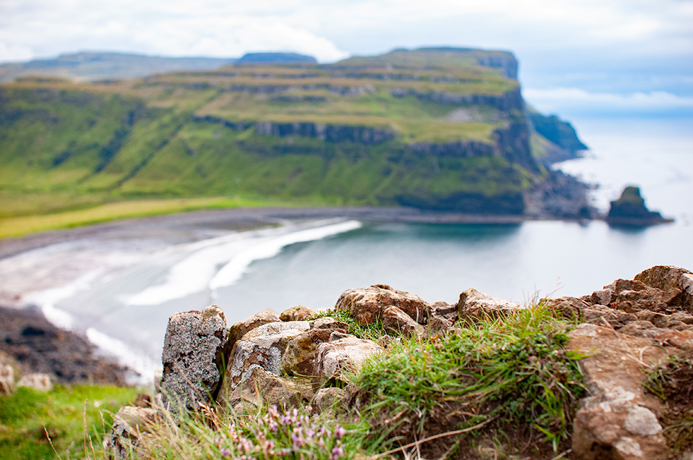 View from Skye Island. Scotland 2016