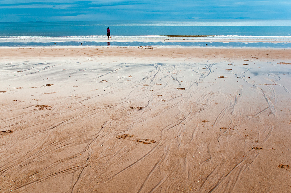 Beach on west coast. Scotland 2016